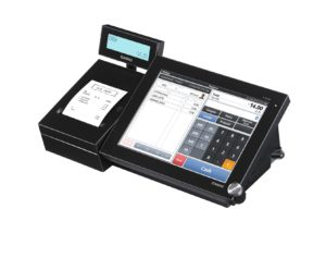 Kasseapparat mode Casio V-R200BD